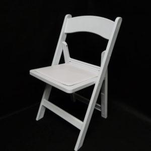 """Chaise """"manon"""" résine blanche"""