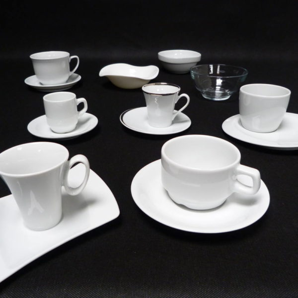 tasses thé, café