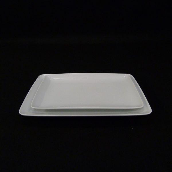 Assiette rectangle Modulo