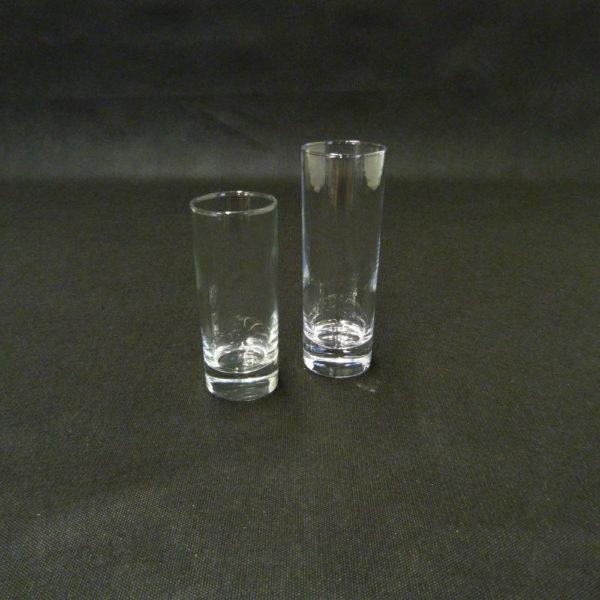 verre tubo