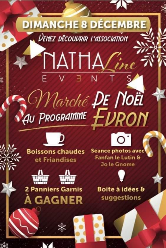 Marché de Noël à Evron 2019